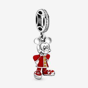 Pandora Jewelry - ❤Pandora  Silver Disney Mickey Mouse Dangle Charm